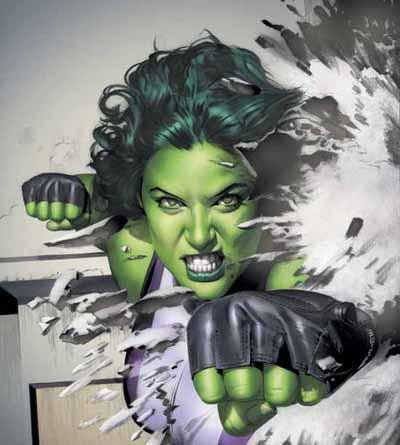 She Hulk - מקסימה