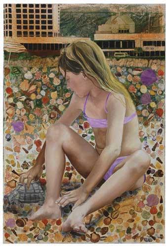 פמלה לוי, ילדה על שפת הים