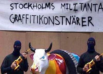 אמני הגרפיטי המיליטנטים של שטוקהולם