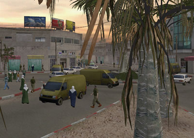 scene from the game Global Conflicts: Palestine
