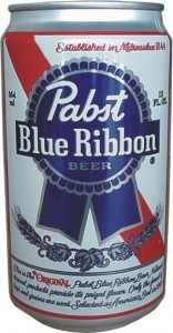 בירה Pabst Blue Ribbon
