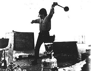 ריצ'ארד סרה משליך עופרת. 199