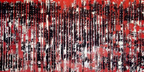 ציור של דניאל גלפרין, מתוך התערוכה