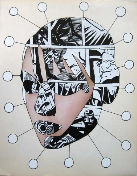 עבודה של גרי גולדשטיין בגלריה 39