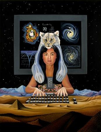 כריכת הספר, 'מניפסט הסייבורג' מאת דונה הרוואי, 1991