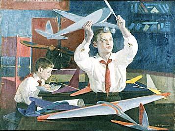 """ולדימירסקי, """"מהנדס עתידי"""", שנות השלושים"""