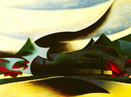 """Giacomo Balla, """"Warship"""", 1916"""